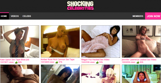Shocking Celebrities